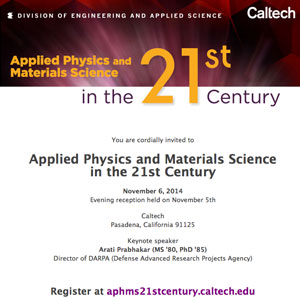 Applied Physics and Materials Science in the 21st Century
